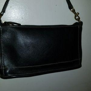 Coach  genuine leather mini purse. Authentic